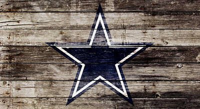 The Dallas Cowboys 3w Print by Brian Reaves