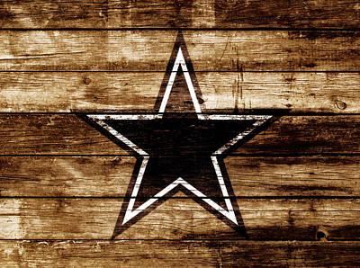 Prescott Mixed Media - The Dallas Cowboys 4b                              by Brian Reaves