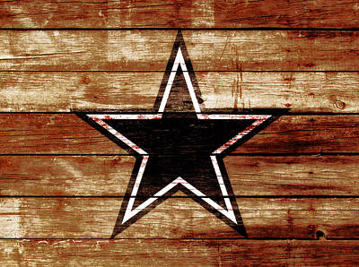 Prescott Mixed Media - The Dallas Cowboys 4c                              by Brian Reaves