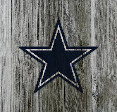 Prescott Mixed Media - The Dallas Cowboys C1                              by Brian Reaves