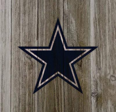 The Dallas Cowboys C4                             Art Print by Brian Reaves