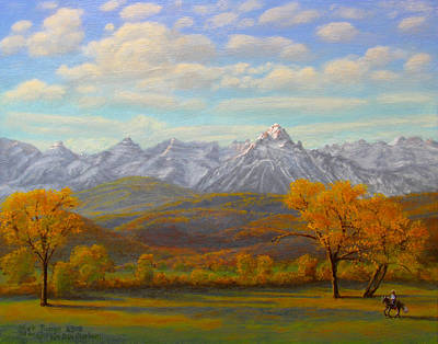 Painting - The Dallas Divide by Mark Junge
