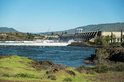 Photograph - The Dalles Dam by Tom Cochran