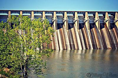 Clarks Hill Lake Photograph - The Dam by Brittany Williams