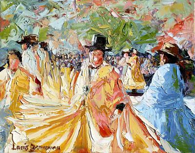 The Dance At La Paz Art Print