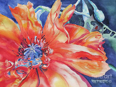Art Print featuring the painting The Dance by Mary Haley-Rocks