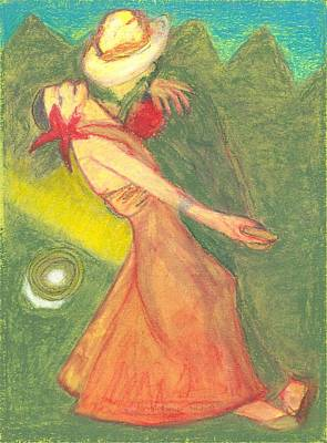 The Dance Art Print by Moneca AtleyLoring