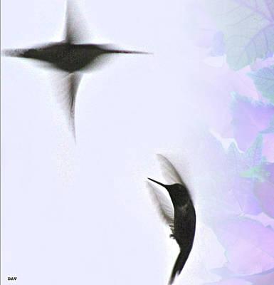 The Dance Of Life Print by Debra     Vatalaro