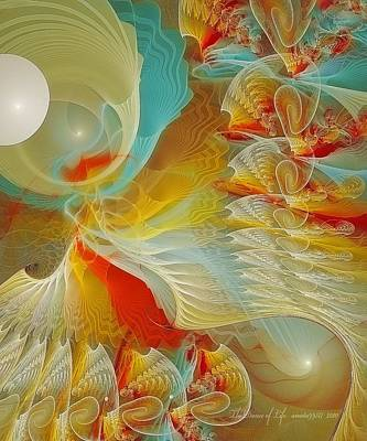 The Dance Of Life Art Print by Gayle Odsather