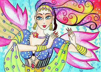 The Dance Of Pari Art Print