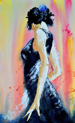 Painting - The Dance by Steven Ponsford
