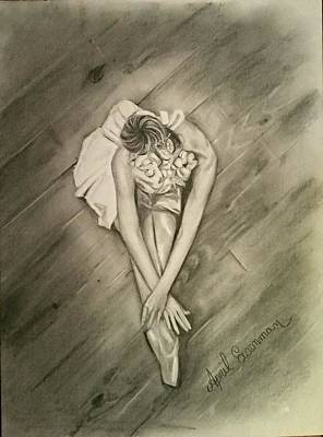 Dance Floor Drawing - The Dancer  by April Eisenman