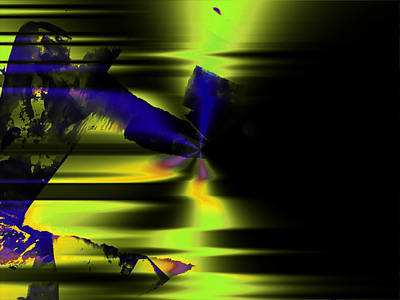 Digital Art - The Dancer by Contemporary Art