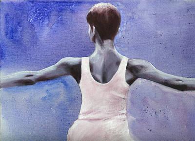 The Dancer Art Print by Fiona Jack