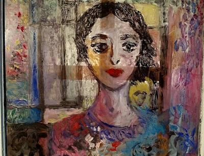 Glass Art - The Dancer by Mykul Anjelo
