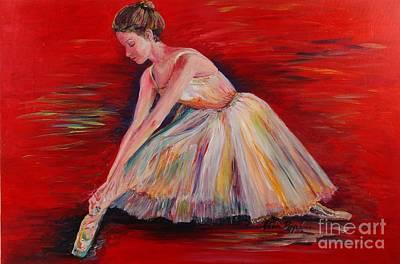The Dancer Art Print by Nadine Rippelmeyer