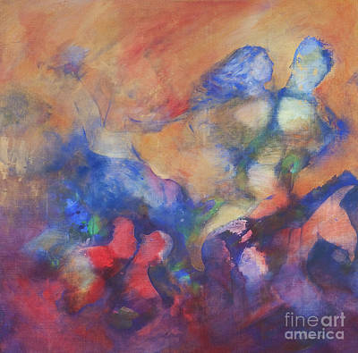 Unity Painting - The Dancers by Kate Maconachie