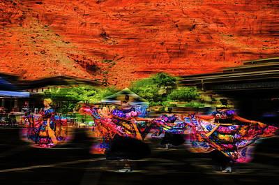 Digital Art - The Dancers by Mark Dunton