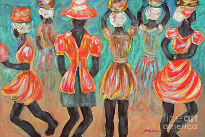 Painting - The Dancers by Pati Pelz