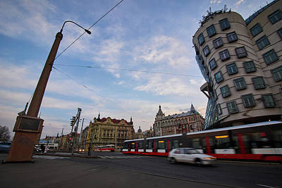 Photograph - The Dancing House. Prague Spring 2017 by Jouko Lehto