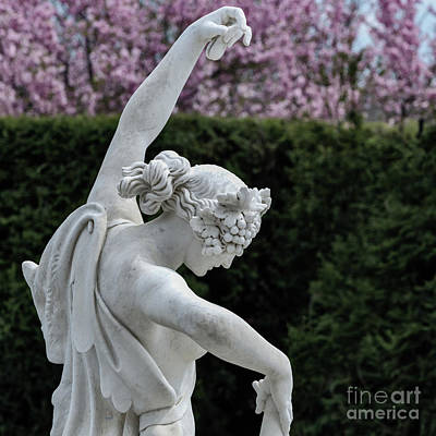 The Dancing Lesson Statue Art Print