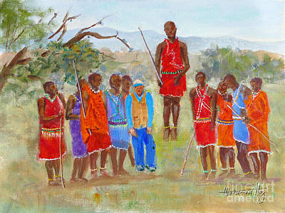 The Dancing Maasai Of Mara Original