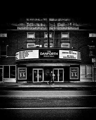 Art Print featuring the photograph The Danforth Music Hall Toronto Canada No 1 by Brian Carson