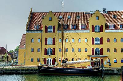 Photograph - The Danish Harbor by Karen McKenzie McAdoo