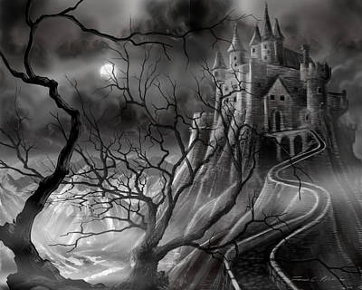The Dark Castle Art Print
