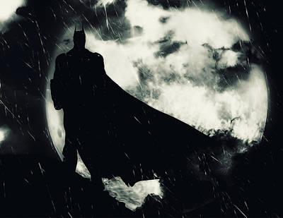 Painting - The Dark Knight by Andrea Mazzocchetti