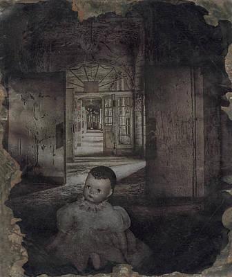 The Dark Place Art Print by Cindy Nunn