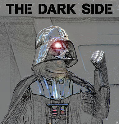 Painting - The Dark Side by David Lee Thompson