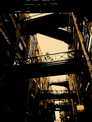 Photograph - The Dark Sides Of Shad Thames by Dorothy Berry-Lound