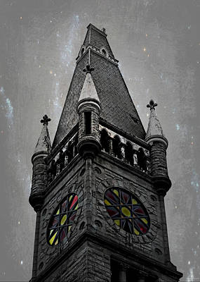Photograph - The Dark Tower by Brenda Conrad