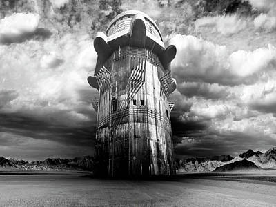 Photograph - The Dark Tower by Dominic Piperata