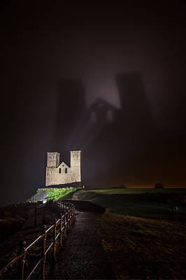 Photograph - The Dark Towers Of Reculver by Kelvin Trundle