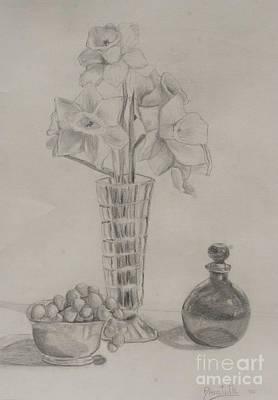 Music Figurative Potraits - The Date by Alena Turner
