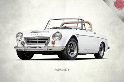 Photograph - The Datsun Fairlady by Mark Rogan