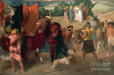 The Daughter Of Jephthah Art Print