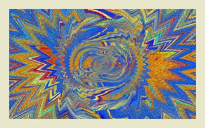 Digital Art - The Dawn Of Hope by Halina Nechyporuk