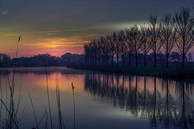 Photograph - The Day Begins by Susan Leonard
