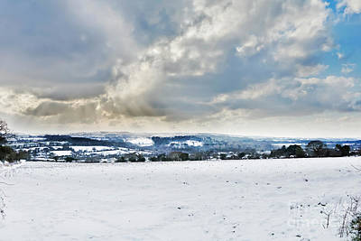 Photograph - The Day It Snowed In Cornwall by Terri Waters