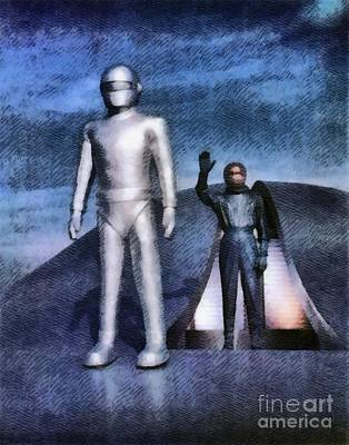 Science Fiction Royalty-Free and Rights-Managed Images - The Day the Earth Stood Still by John Springfield