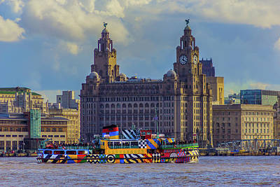 Photograph - The Dazzling Mersey Ferry by Paul Madden