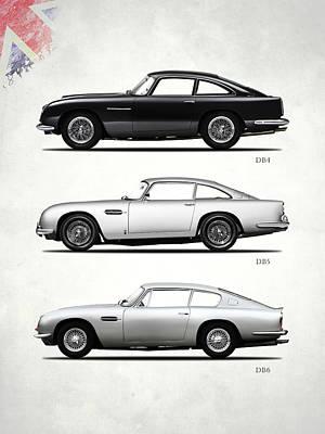 Aston Martin Db5 Photograph - The Db Collection by Mark Rogan