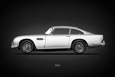 Aston Martin Db5 Photograph - The Db5 1964 by Mark Rogan