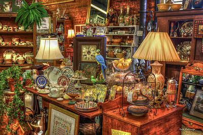 Photograph - The Dealer Greensboro Antique Mall Art by Reid Callaway