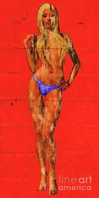 The Death Of Barbie By Mary Bassett - Pop Art Art Print