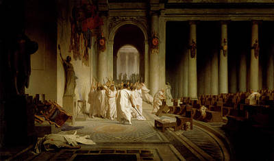 Night Painting - The Death Of Caesar by MotionAge Designs