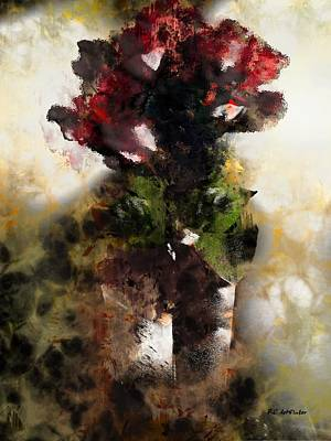 Rose Tower Painting - The Death Of Innocence by RC deWinter